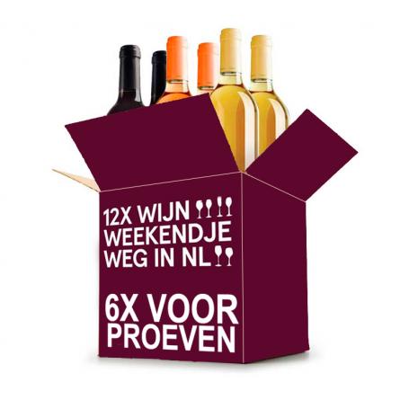 Wijn Weekendje Weg in NL Proefpakket