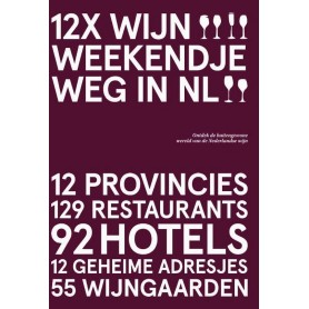 Boek 12 xWijn Weekendje Weg in NL